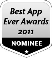 2011 Best App Ever Nominee Badge