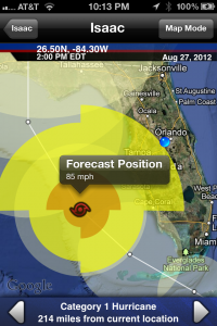 Isaac Forecast